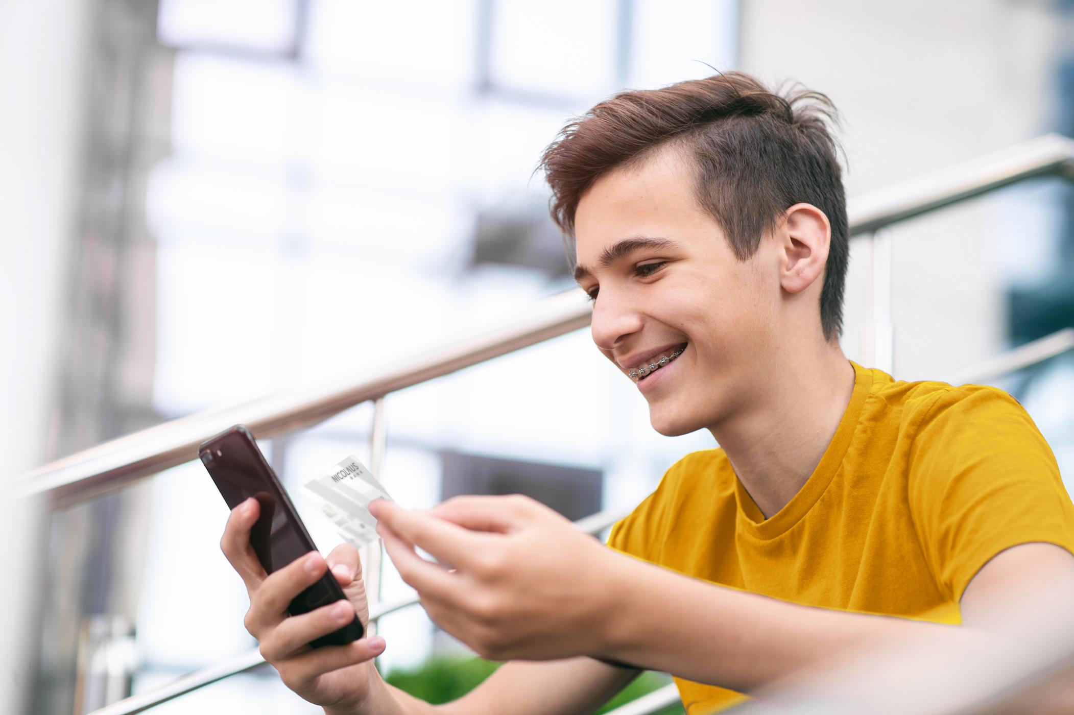 Konto Dla Młodych - konto wNicolaus Banku dla młodzieży wwieku 13-20 lat
